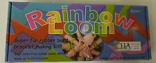 LOT OF 2 Rainbow Loom Super Fun Rubber Band Bracelet Making Kit Crafts Hobby NEW