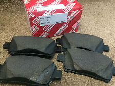 GENUINE TOYOTA MR2 1.8 VVTi FRONT BRAKE PADS 2000 2001 2002 2003 2004 2005 2006