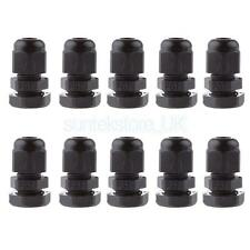 10pcs Water-proof Thread Cable Connector Adaptor Joints Glands PG7 3-6.5mm