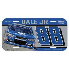 Dale Earnhardt Jr Nationwide Plastic License Plate NASCAR