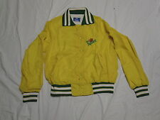 Vintage CHAMPION Blue Tag DIET SQUIRT Nylon YELLOW Snap Jacket Advertising M