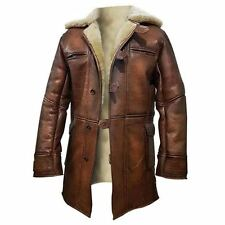 The Dark Knight Rises Tom Hardy Bane Trench Leather Coat Jacket
