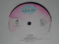 """THE REGENTS  """" 7 Teen  """"  1979 UK 7""""  RIALTO  TREB 111"""
