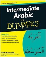 Intermediate Arabic For Dummies by Keith Massey (Paperback, 2008)