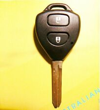key case shell 2 buttons for toyota yaris corolla camry prado echo rav4 hilux