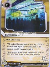 Android Netrunner lunaires - 1x franchise City #114 - the universe of tomorrow
