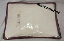 Frette Double Ajour 100% Egyptian Cotton QUEEN Flat & Fitted Sheets Ivory