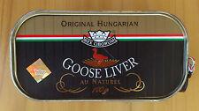 Hungarian Goose Liver au naturel 100g/3.5oz 91% Foie Gras content FREE shipping
