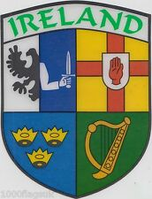 Ireland Irish Connacht Leinster Munster Ulster Flag Vinyl Car Window Sticker