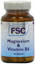FSC Magnesium + Vitamin B6 90 Tablets *BUY 1 GET 1 FREE*