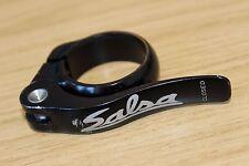 Salsa Seat Clamp Quick Release Seatpost 34.9 35.0 35mm Clamp Black Flip Lock