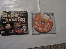 THE LONGEST JOURNEY PC GAMER PC CD-ROM GAME