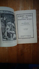 Jerry Todd and the Whispering Mummy by Leo Edwards HC/DJ