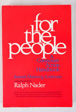 SIGNED by Ralph Nader, For the People: A Consumer Action Handbook by JM Anderson