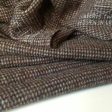 "Hand Woven Harris Tweed Heavy Wool High Class Fabric 74cm 29"" (1c)Jacket Bag Sho"