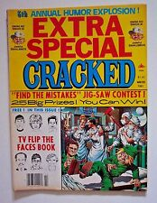 5TH ANNUAL EXTRA SPECIAL CRACKED MAGAZINE  w TV FLIP THE FACES BOOK -WINTER 1981