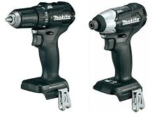 "New Items: Black Makita XFD11 18V 1/2"" Brushless Drill + XDT15 Brushless Im"
