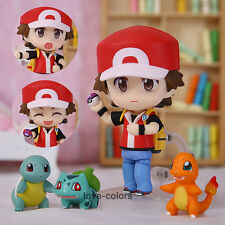 New Pokemon Toy Ash Ketchum Zenigame Charmander Bulbasaur Action Figure Anime