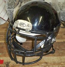 RAWLINGS IMPULSE ADULT FOOTBALL HELMET - LARGE - BLACK