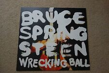 BRUCE SPRINGSTEEN WRECKING BALL PROMO THICK CARD SHOP DISPLAY POSTER