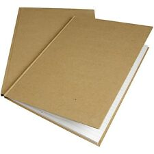 Plain Kraft Notebook A4 - Ruled Pages x 80 - Decorate Note Book - Home School