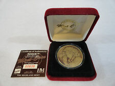 1998 Marvel X-men Rogue Bronze Coin w/ COA MINT Only 1 on ebay!