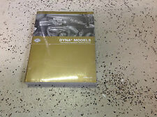 2009 Harley Davidson DYNA MODELS Service Manual Set W Parts & Electrical Owners