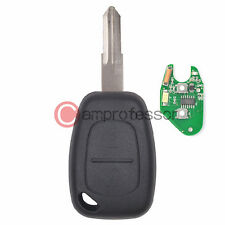 New Uncut Remote Key Fob 2 Button 433MHz PCF7946 for Renault Opel/Vauxhall
