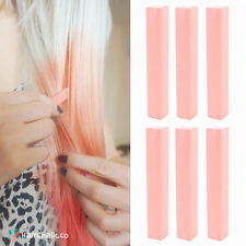Best Champagne Pink Hair Dye | LIGHT SALMON - 6 Salmon Pink DIY Hair Chalks