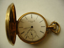 "Vintage 18K Gold Pocket Watch ""P Robert & Fils "" Locle"