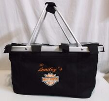 HARLEY DAVIDSON Pinic Bag Insulated Cooler Smiley's HD Motorcycle