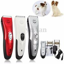 Electric Animal Pet Cat Dog Clipper Trimmer Grooming Hair Shaver Cutter Cordless