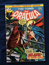 Tomb of Dracula # 10 (Marvel, July 1973) 1ST BLADE!
