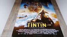 LES AVENTURES DE TINTIN et le secret de la licorne    ! affiche cinema
