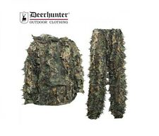 DEERHUNTER GHILLIE SUIT SNEAKY 3D CAMO SHOOTING Anorak + Trousers 2XL/3XL