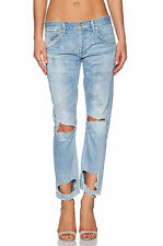 CITIZENS OF HUMANITY $228 DESTRUCTED WASTELAND EMERSON BOYFRIEND JEANS  27