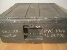 "WW2 GERMAN LUFTWAFFE ALUMINUM CASE ""PVC 1006"" Weapons system ""Patronenkammer"""
