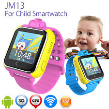 For Smartphone Wifi/3G/2GPS Children Kid Smart Watch Wrist Remote Camera Monitor