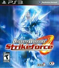 Dynasty Warriors: Strikeforce (Sony PlayStation 3, 2010)
