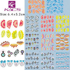 11 Sheets/Lot Feather&Wing Nail Art Stickers Water Transfer Decals #BLE1071-1081