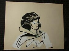 1960's SUB-MARINER TV Animation Cartoon Production Art LADY DORMA Sc30 9F4