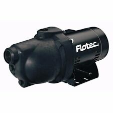 Flotec FP4012 Thermoplastic Shallow Well Jet Pump 1/2 HP
