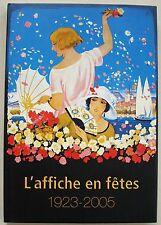 L'affiche en fête, 1923-2005 Genève Tourisme 2005
