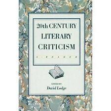 Twentieth Century Literary Criticism: A Reader, , Acceptable Book