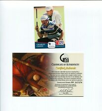 Charles Coody Masters 1971 Ryder Cup Champ PGA Golf Signed Autograph Photo Card