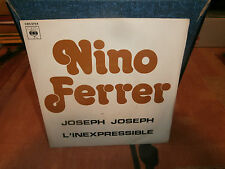 "nino ferrer""joseph joseph""single7""or.fr.cbs:5754.de 1977 promo juke-box"