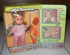 Bambola MINI LUCIANA MIGLIORATI Anni 70 Nuova in scatola Doll 20 cm