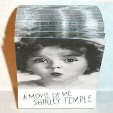 FLIPIX Shirley Temple ANIMATED MOTION PICTURE FLIP BOOK Mint Condition SHACKMAN