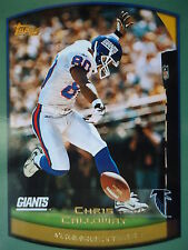 NFL 293 Chris Calloway New York Giants Transactions Topps 1999