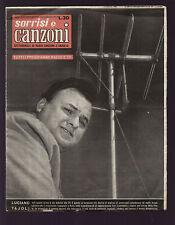 SORRISI 44/1956 TAJOLI MONARCH RICHELIEU CAFARO TORRIELLI MARZOCCHI SOFFICI
